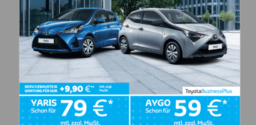 Yaris und Aygo Hybrid Business Edition