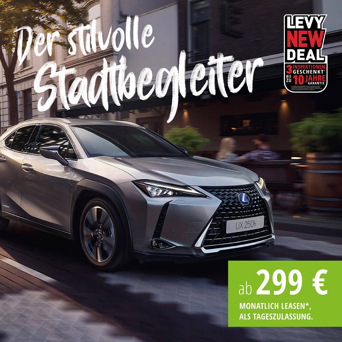 Lexus UX 250h Style Edition<br>Hybrid, stufenloses Automatikgetriebe, 5-Türer