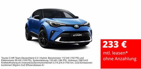 Toyota C-HR Eröffnungsangebot