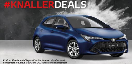 Jahresendspurt:<br>Unsere Corolla-Knaller!