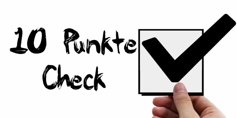 10-Punkte-Check