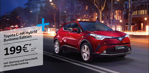 C-HR Hybrid Business Edition!