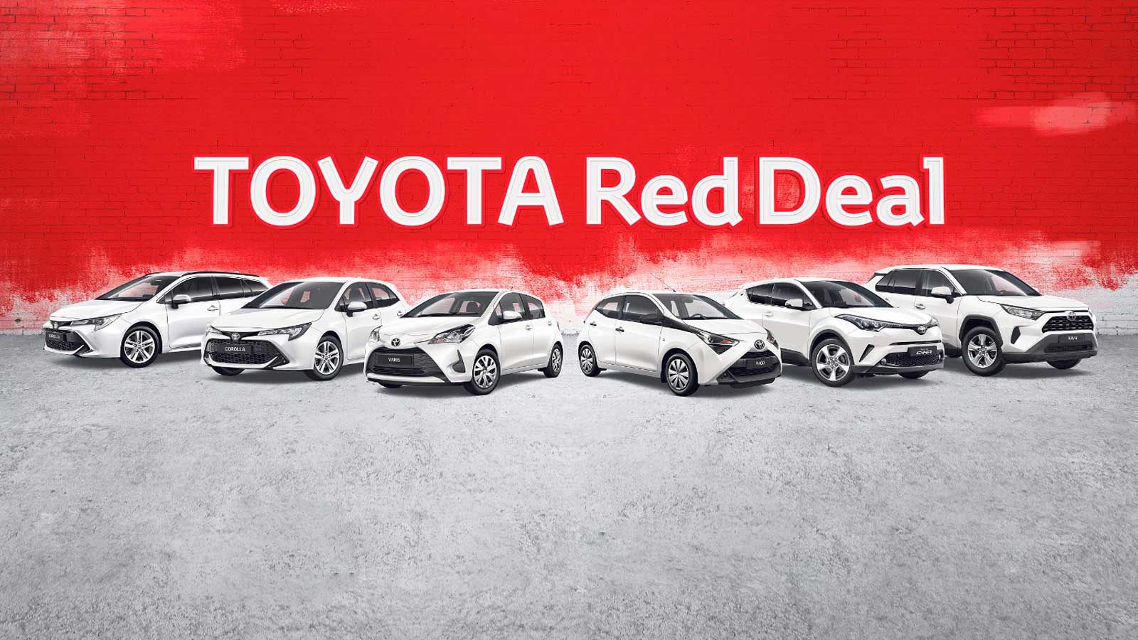 Toyota Red Deal: Fahrspaß für kleines Geld!