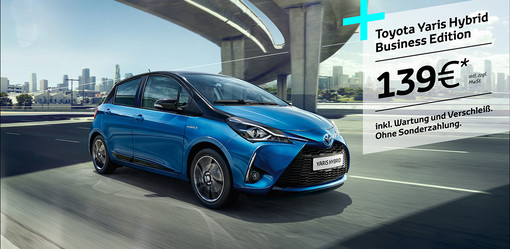 Yaris Hybrid Business Edition!