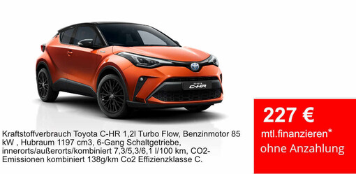 Top Levy C-HR Turbo Deal