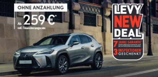Eröffnungsangebot Lexus UX 250 Hybrid Amazing Edition