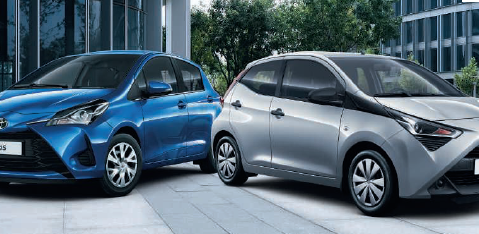 Yaris Hybrid und Aygo Business Edition