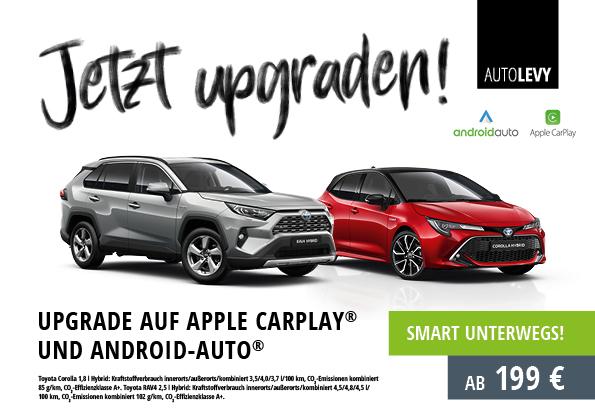 Nachrüstung Apple CarPlay & Android Auto