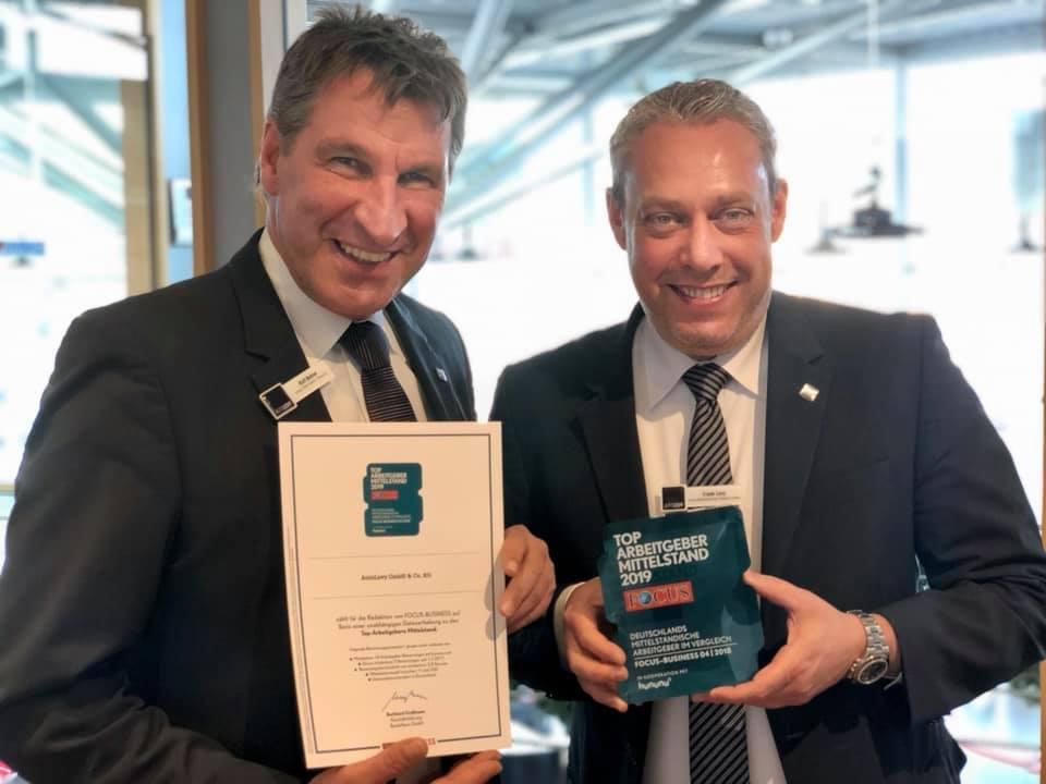 TOP Arbeitgeber Mittelstand 2019