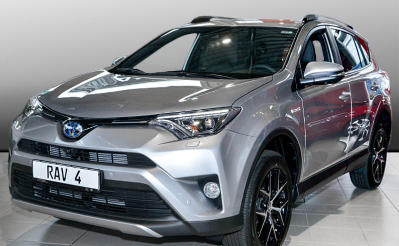 RAV4 Hybrid Style Selection
