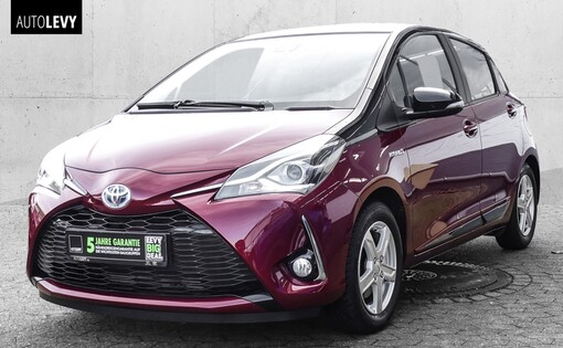 Yaris Style Hybrid Sel. Red