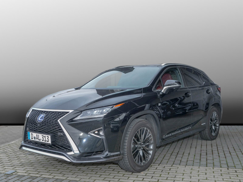 RX 450H F SPORT Panorama Schiebedach LED
